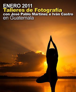 Talleres de Fotografía con José Pablo Martínez e Iván Castro en Guatemala