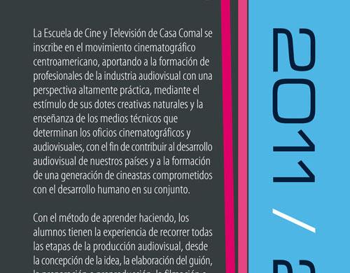 Convocatoria 2011 - Escuela de Cine y tv de Casa Comal