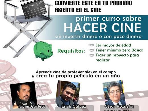 Curso de Cine de bajo presupuesto en la Universidad Popular