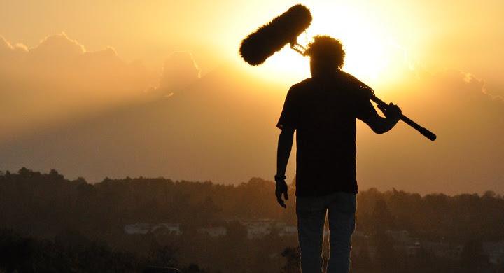 Detrás de cámaras de Polvo - Nuevo largometraje de Julio Hernandez
