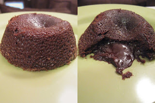 Baking and Mistaking: Hot Molten Chocolate Cakes