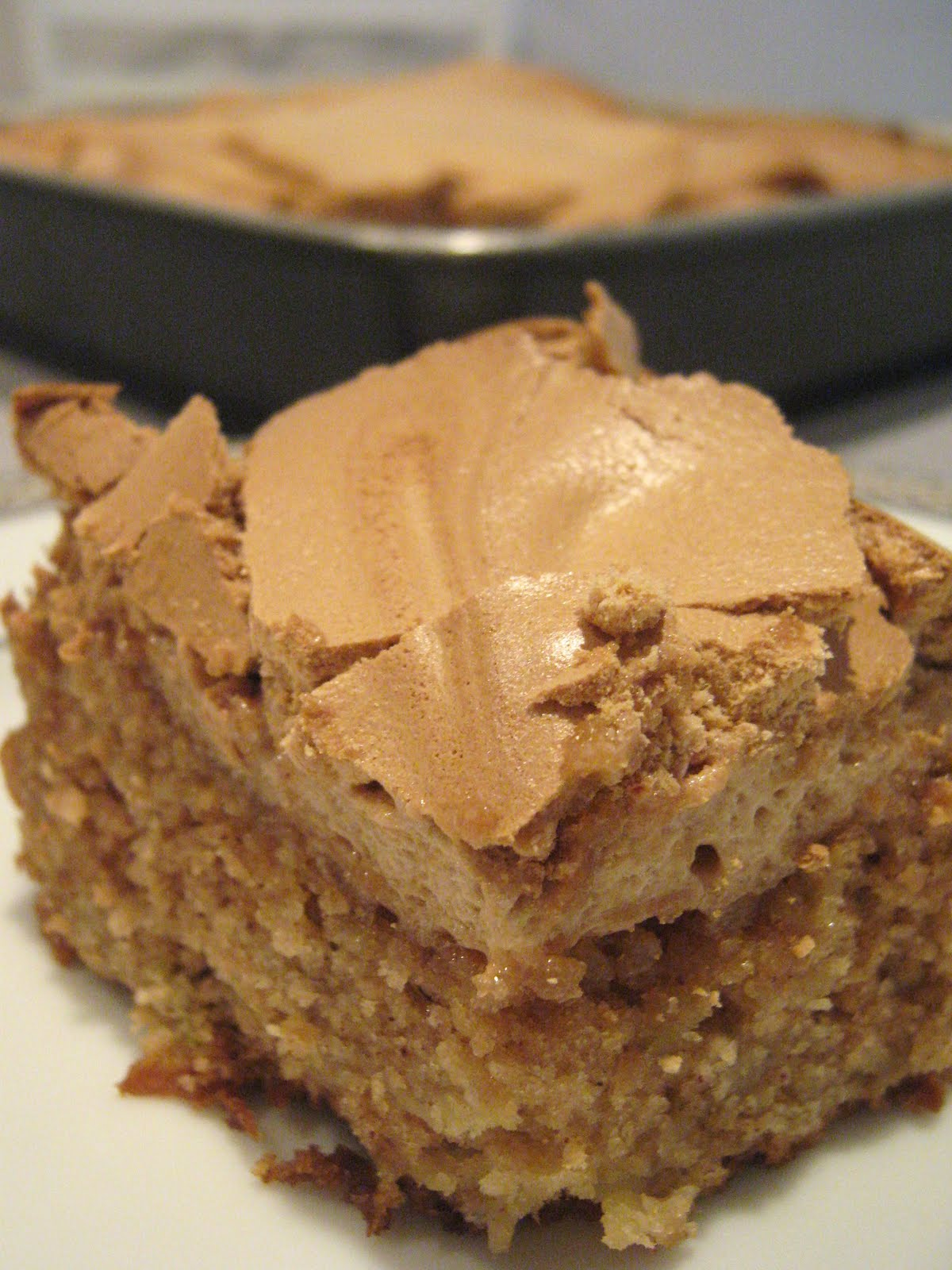 Apple Spice Cake With Maple Frosting