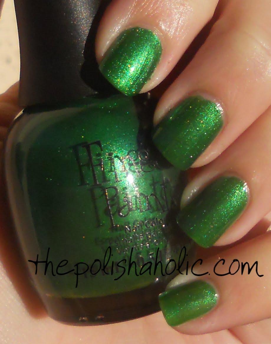 The PolishAholic: Finger Paints- Sketch N Etch