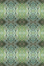 Green Yucca Frond Pattern