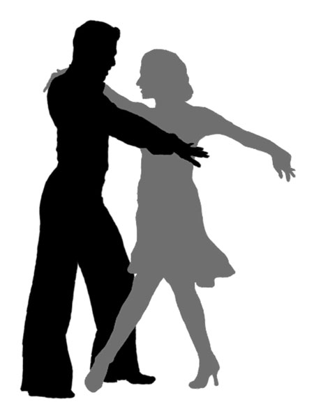 The gallery for --> Couple Slow Dancing Silhouette