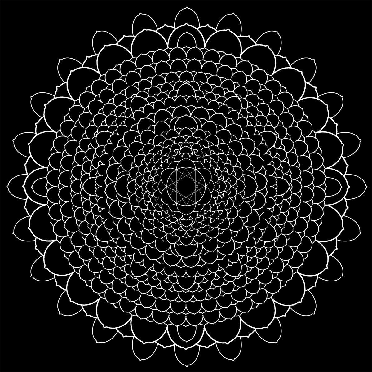 Brightlight Mandalas Thousand Petal Lotus
