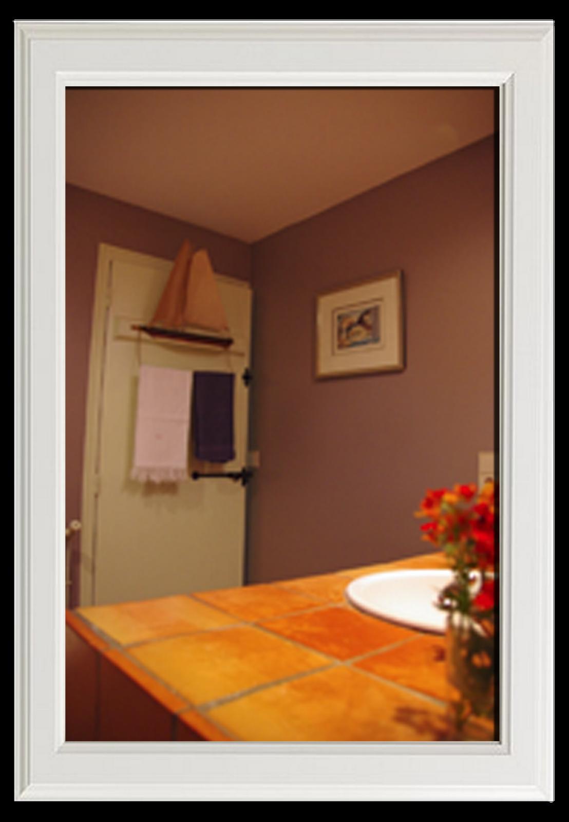 Salle de bain de chambre d'hôte-Après