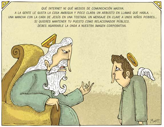 Humor gráfico sobre las religiones y dioses - Página 2 Relacionador-publico