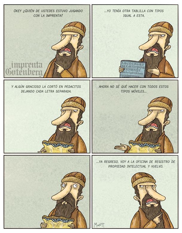 un poco de humor Gutenberg