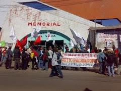 Imágen de la Jornada de Lucha  Asunción