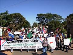 Imágen de la Jornada de Lucha Caaguazú