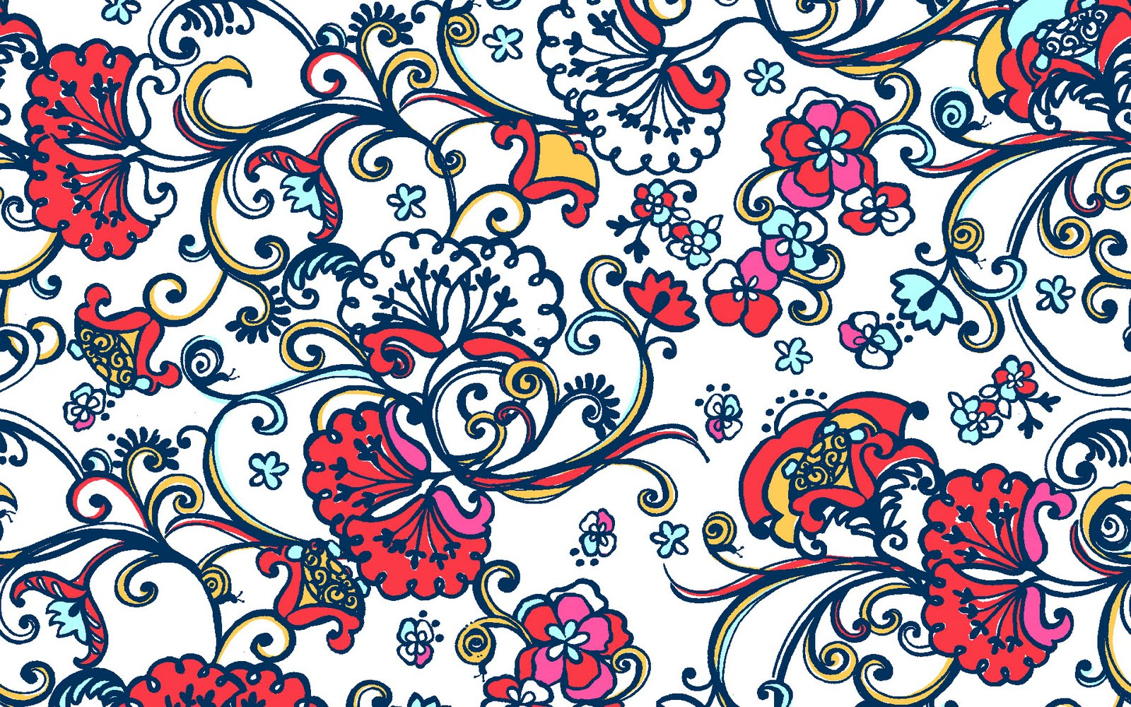 The fashionista diaries lilly pulitzer fall 2010 prints for Wallpaper prints patterns