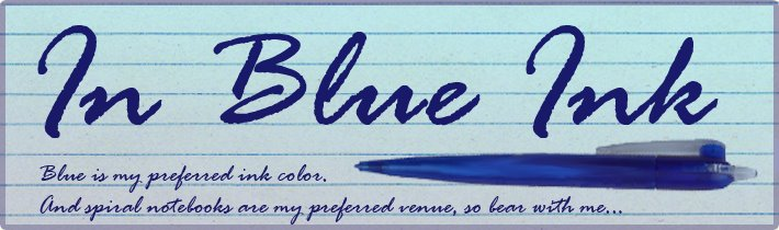 In Blue Ink