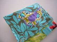 carteira laço verde Ref.: #029