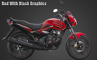 red with black Graphics