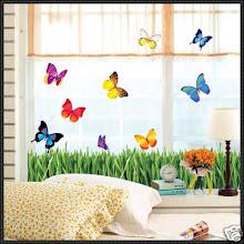 Grass & Butterfly