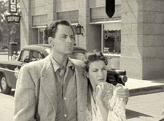 John Agar and Mara Corday