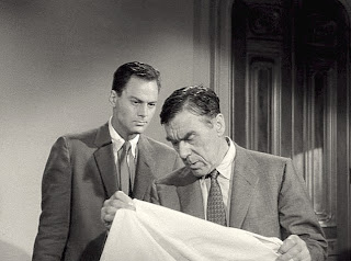 John Agar and Leo G. Carroll