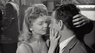 Yvette Vickers and William Hudson