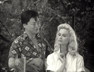 Victor Sen Yung and Irish McCalla