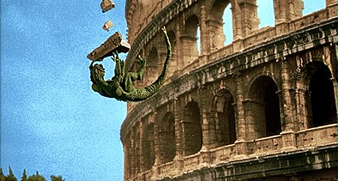 The Ymir, falling