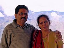 Artist Anuradh and Vinodchandra Soni