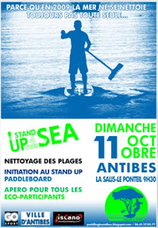 Sup L Stand Up Paddle France News Forum Evenements Technique Petites Annonces Initiative Stand Up For Your Sea Antibes