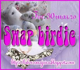 Swap birdie- Colgador Pajaro
