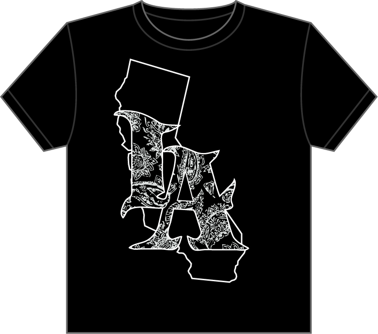 Chanchozdesign t shirt design for Los angeles california shirt