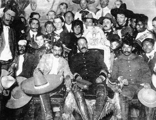 Fotos De Pancho Villa Y Zapata