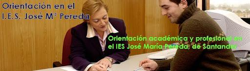 Orientación en el IES José Mª Pereda