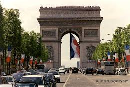 Arc du triomphe - Paris - França