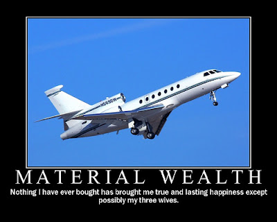 material wealth What is the course's stance toward money and material wealth since the course asserts that we are all equal and encourages sharing, would it advocate equal.