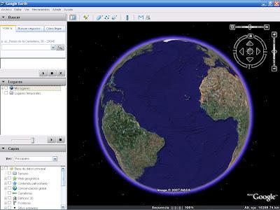 probar google earth gratis sin descargar