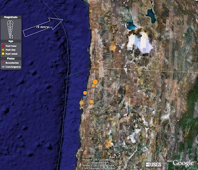 Consecuencias de terremoto en Chile