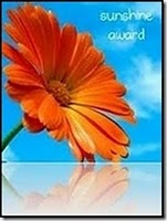Thank you, Susan for this wonderful blog award!