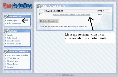 message easyautores