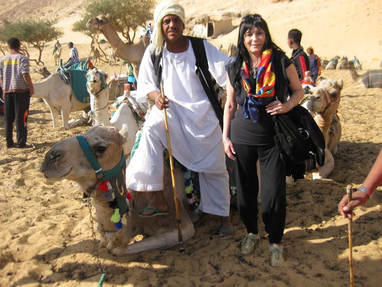 camino al pueblo nubio