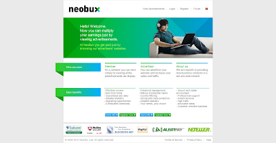 Neobux New Homepage
