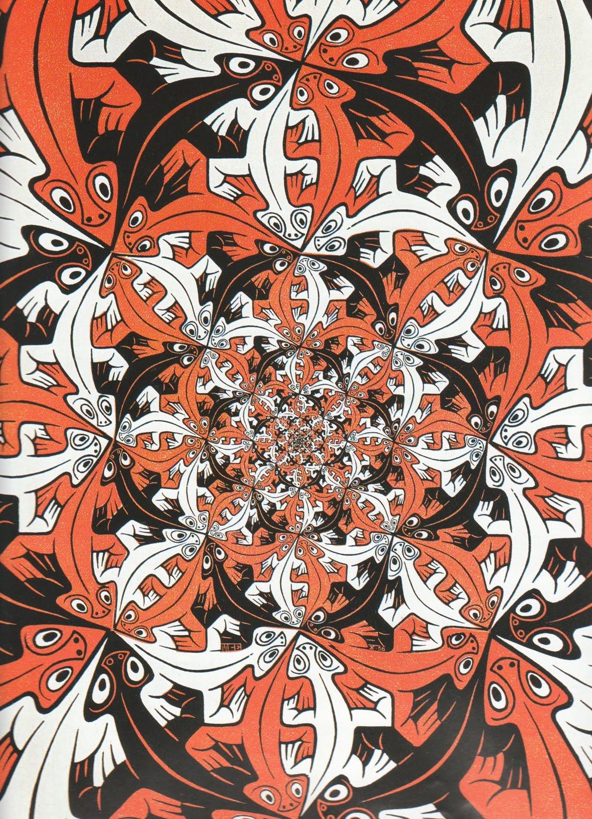 Escher ecuaci n de belleza taringa for Escher metamorfosi