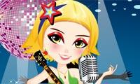 Rockn Roll Kızı Giydirme Oyunu