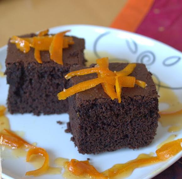 Portakallı Browni Tarifi