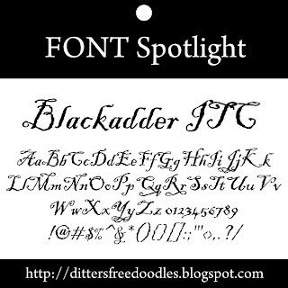 blackadder font