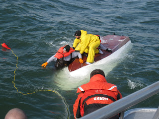 boat capsizes off New Jersey