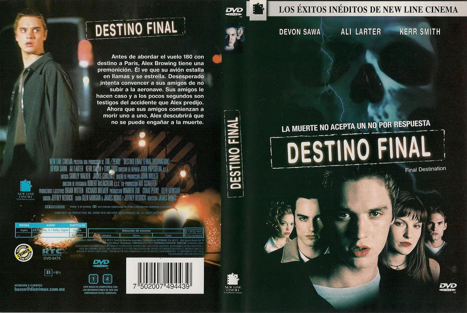 Destino final 1 2 y 3 rmvb exelente calidad warez for Affitti cabina lago kerr scott