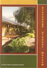 Greenough Pioneer Museum Book