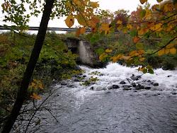 Spooner Lake Dam