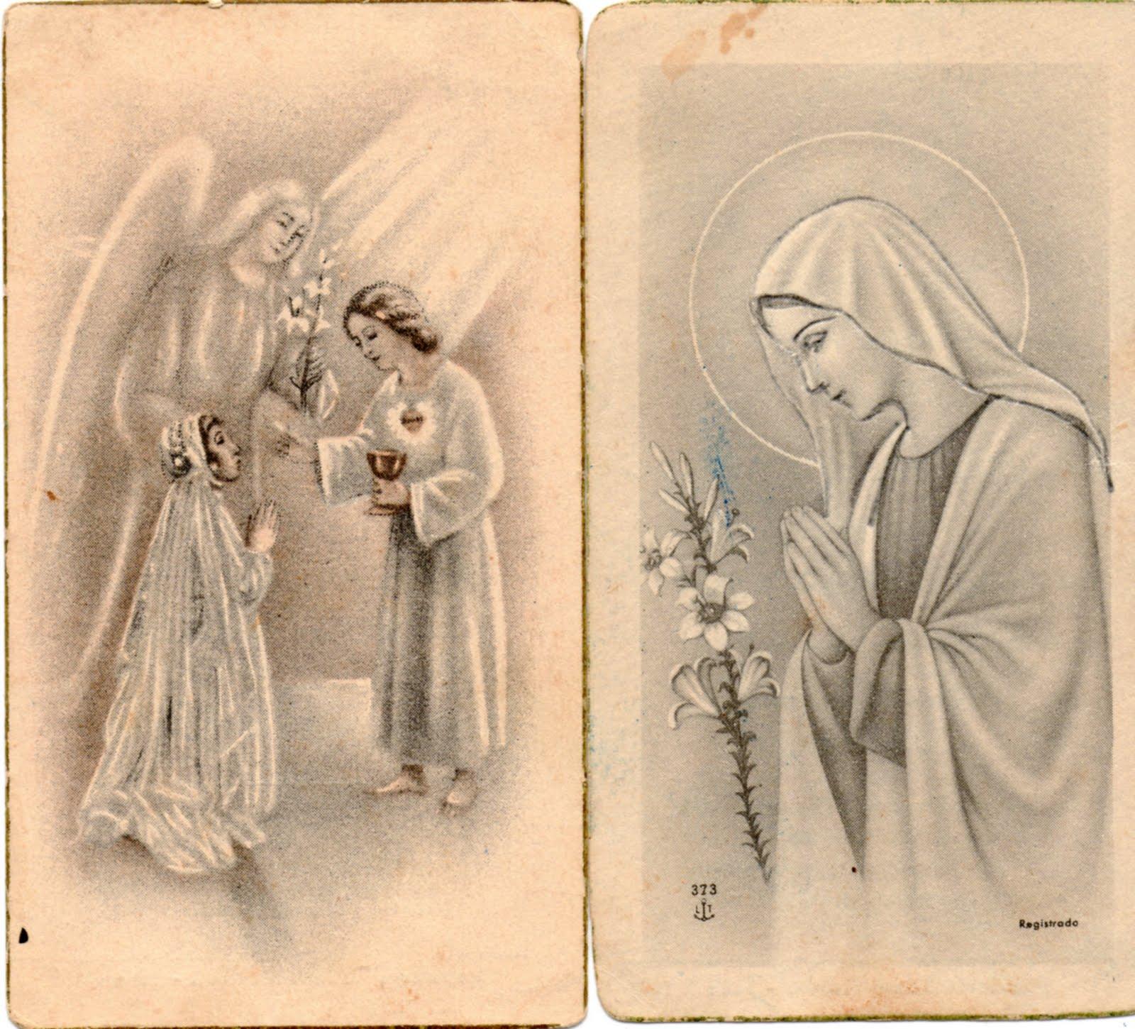 ... de junio de 1942 en la capilla del colegio de las carmelitas de esta