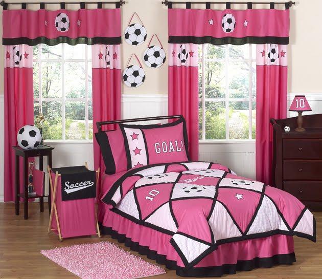 girls soccer childrens bedding down comforter