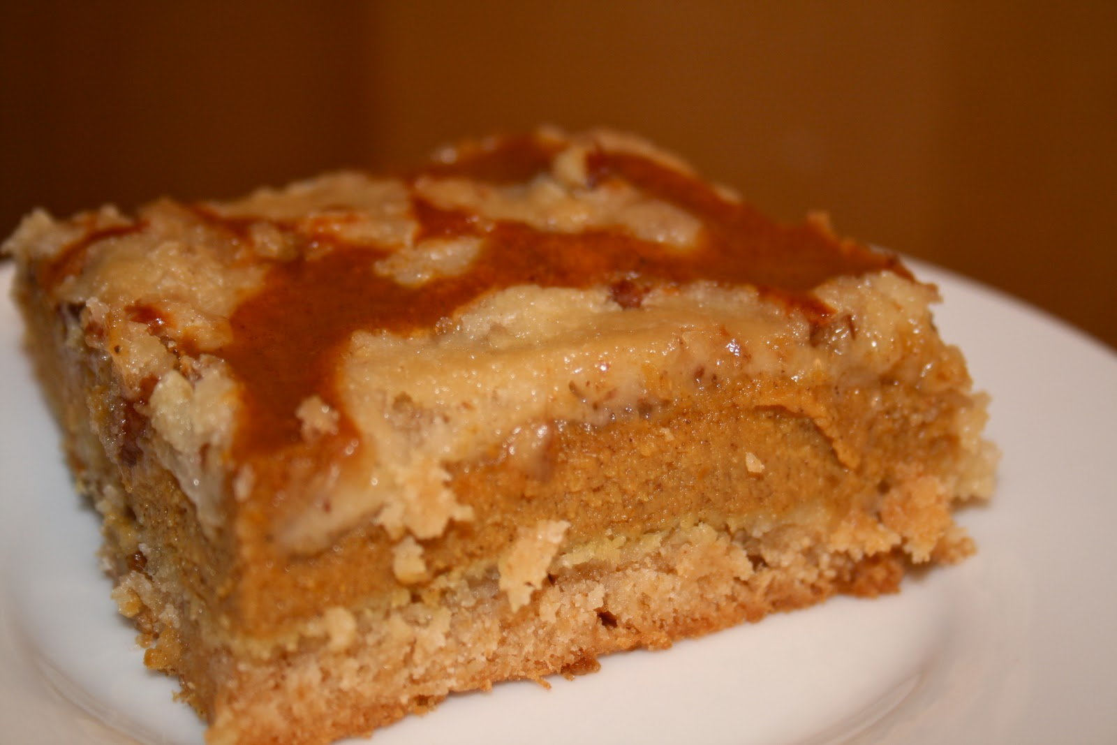 Pumpkin Dessert With Cake Mix